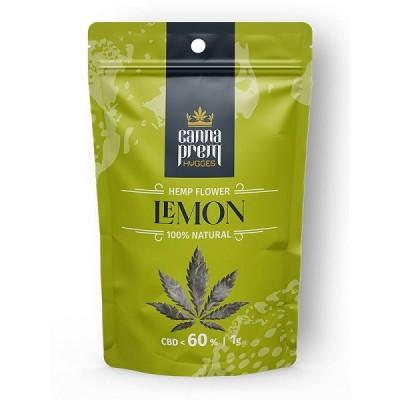 Cannaprem Hemp Flower Lemon 1gr - 60% CBD