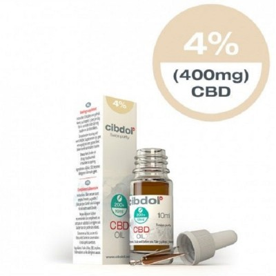 Cibdol CBD Oil Normal 4% - 10ml (400mg)