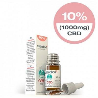 Cibdol CBD Oil Strong 10% - 10ml (1000mg)