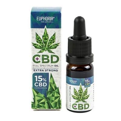 Euphoria CBD Full Spectrum Oil 15% Extra Strong 10ml