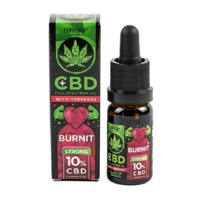 Euphoria CBD Oil 10% With Terpenes : Burnit 10 ml
