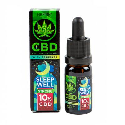Euphoria CBD Oil 10% Sleep Well 10ml