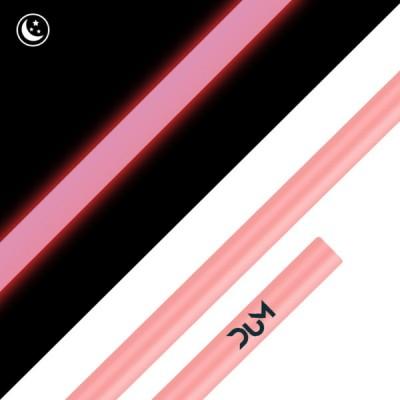 Shisha DUM Σωλήνας Σιλικόνης Rofix Pink Fluo