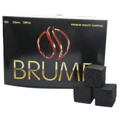 Brume Premium Coco Κάρβουνα 25mm - 72τμχ