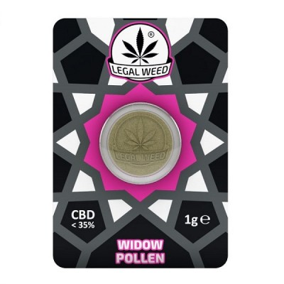 Legal Weed Widow Pollen 1g - 35% CBD