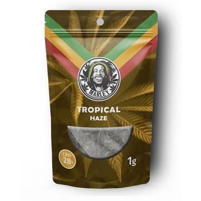 Marley Hemp Flower Tropical Haze 1gr - 28% CBD
