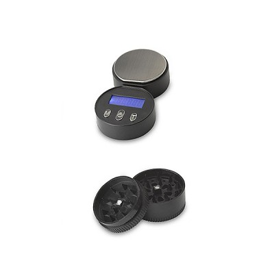 Digital Pocket Scale .01g / 100g Hidden Can Scales 3in1 Stash Grinder